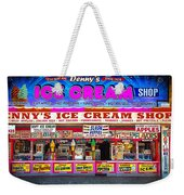Dennys Ice Cream Shop Weekender Tote Bag