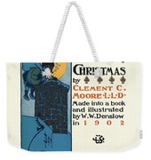 Denslows Night Before Christmas By Clement Moore Lld 1902 Weekender Tote Bag