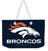 Denver Broncos Nfl Weekender Tote Bag