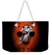 Denver Broncos War Mask 2 Weekender Tote Bag