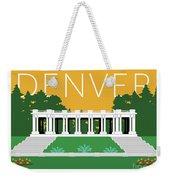 Denver Cheesman Park/gold Weekender Tote Bag by Sam Brennan