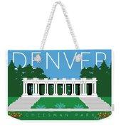 Denver Cheesman Park Weekender Tote Bag by Sam Brennan