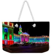 Denver City County Building Holiday Lighting. Weekender Tote Bag