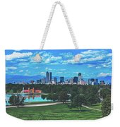 Denver City Park Weekender Tote Bag