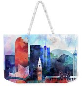 Denver, Colorado Skyline Weekender Tote Bag