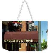 Denver Downtown Storefront Weekender Tote Bag