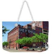 Denver Downtown Warehouse Weekender Tote Bag