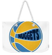 Denver Nuggets Retro Shirt Weekender Tote Bag