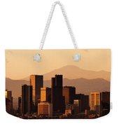 Denver Skyline 2003 Weekender Tote Bag