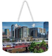 Denver Train Station Weekender Tote Bag