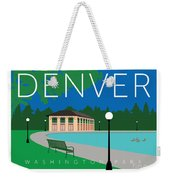 Denver Washington Park Weekender Tote Bag by Sam Brennan