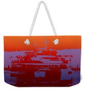 Departing Ferry 2 Weekender Tote Bag
