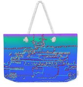 Departing Ferry Weekender Tote Bag