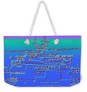 Departing Ferry Weekender Tote Bag by Tim Allen
