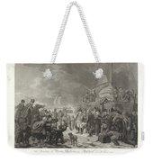 Departure Of Prince William V, 1795, Joannes Bemme, After Dirk Langendijk, After Christoffel Meijer, Weekender Tote Bag