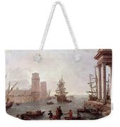 Departure Of Ulysses From The Land Of The Feaci  Weekender Tote Bag