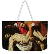 Deposition Weekender Tote Bag by Michelangelo Merisi da Caravaggio
