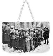 Depression: Harlem, 1931 Weekender Tote Bag