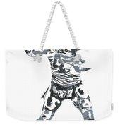 Derek Carr Oakland Raiders Pixel Art 11 Weekender Tote Bag