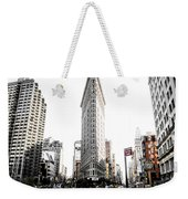 Desaturated New York Weekender Tote Bag