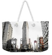 Desaturated New York Weekender Tote Bag