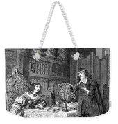Descartes Teaching Queen Christina, 1649 Weekender Tote Bag