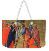 Descent From The Cross 1311 Weekender Tote Bag