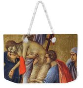 Descent From The Cross Fragment 1311 Weekender Tote Bag