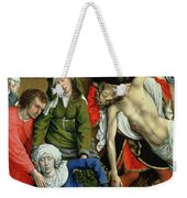 Descent From The Cross Weekender Tote Bag