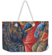 Descent Of The Holy Spirit Upon The Apostles Fragment 1311 Weekender Tote Bag