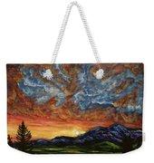 Descent On Mount Diablo Weekender Tote Bag
