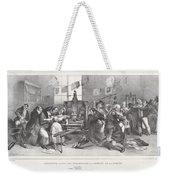 Descente Dans Les Ateliers De La Libert? De La Presse Weekender Tote Bag