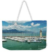 Desenzano Del Garda Lighthouse Italy Weekender Tote Bag