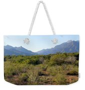 Desert And Mountains In Mexico Cabo Pulmo Weekender Tote Bag