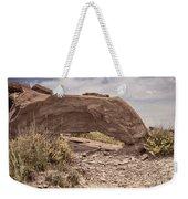 Desert Badlands Weekender Tote Bag