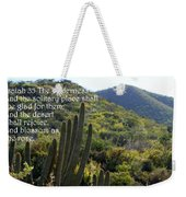Desert Blossoms As The Rose Weekender Tote Bag