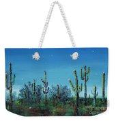 Desert Blue Weekender Tote Bag