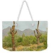 Desert Cactus Weekender Tote Bag
