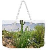 Desert Chaparral Weekender Tote Bag
