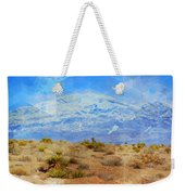 Desert Contrasts Weekender Tote Bag by Michelle Dallocchio