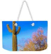 Desert Duo In Bloom Weekender Tote Bag