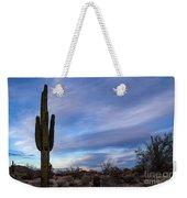 Desert Evening Weekender Tote Bag