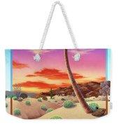 Desert Gazebo Weekender Tote Bag