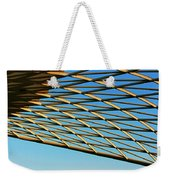 Desert Grid Weekender Tote Bag