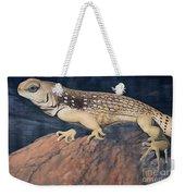 Desert Iguana Mural Weekender Tote Bag