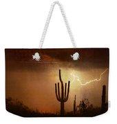 Desert Landscape Southwest Weekender Tote Bag
