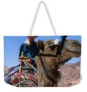 Desert Locomotion Weekender Tote Bag