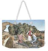 Desert Jesus Weekender Tote Bag