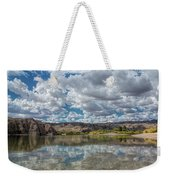 Desert River Cloud Reflection Weekender Tote Bag