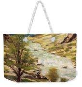 Desert River Weekender Tote Bag